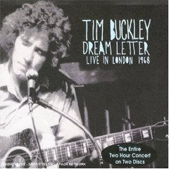 <i>Dream Letter: Live in London 1968</i> 1990 live album by Tim Buckley