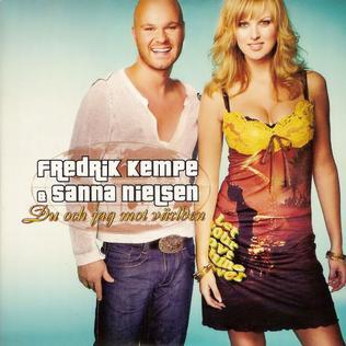 Du och jag mot världen 2021 single by Fredrik Kempe & Sanna Nielsen