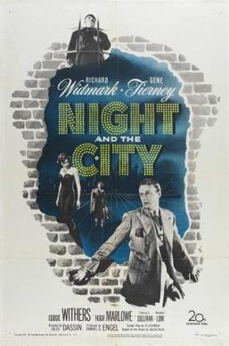 Night and the City (1950) movie poster
