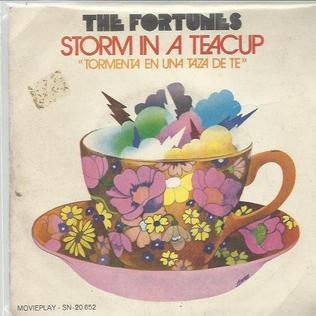 Storm in a Teacup (The Fortunes song) original song written and composed by Lynsey de Paul, Ron Roker