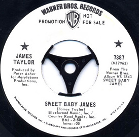 Sweet Baby James (song) 1970 single by James Taylor