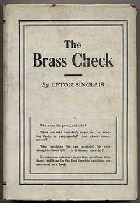 <i>The Brass Check</i> book by Upton Sinclair