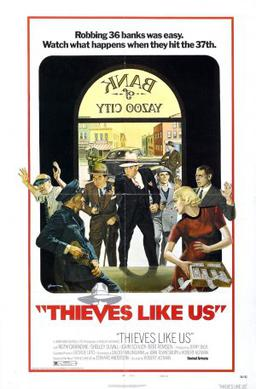Thieves Like Us (1974) movie poster