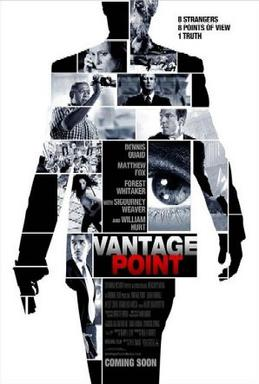 Film poster for Vantage Point - Copyright 2008...