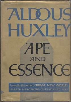 Ape and Essence - Wikipedia, the free encyclopedia