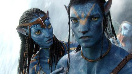 Image from film, Avatar