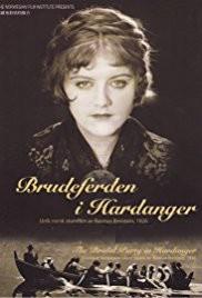 <i>Brudeferden i Hardanger</i> 1926 Norwegian film directed by Rasmus Breistein
