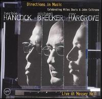 <i>Directions in Music: Live at Massey Hall</i> live album by Herbie Hancock