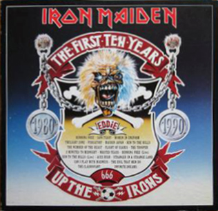 <i>The First Ten Years</i> (box set) 1990 box set by Iron Maiden
