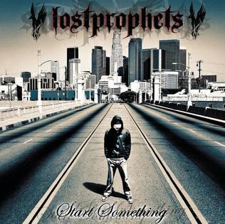 <i>Start Something</i> album of Lostprophets in 2004