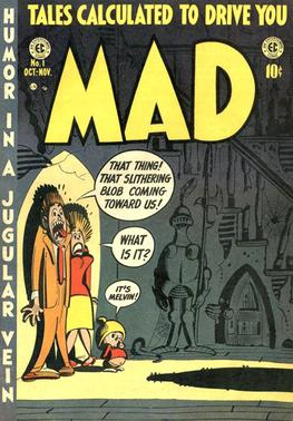 Image result for mad magazine 1950's