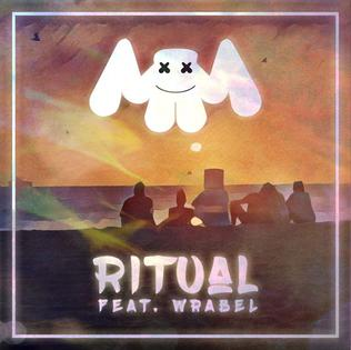 Ritual (Marshmello song) 2016 single by Marshmello ft. Wrabel