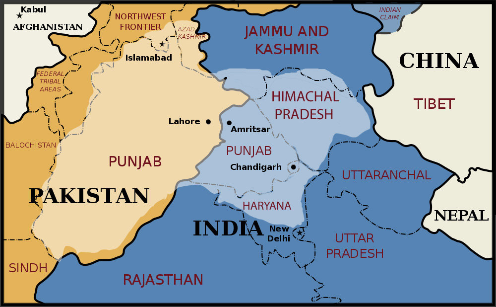 free essays in punjabi language map