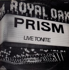 <i>Live Tonite</i> (Prism album)