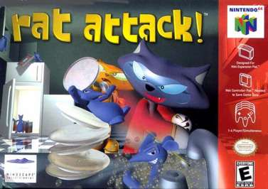 <em>Rat Attack!</em> North American box art