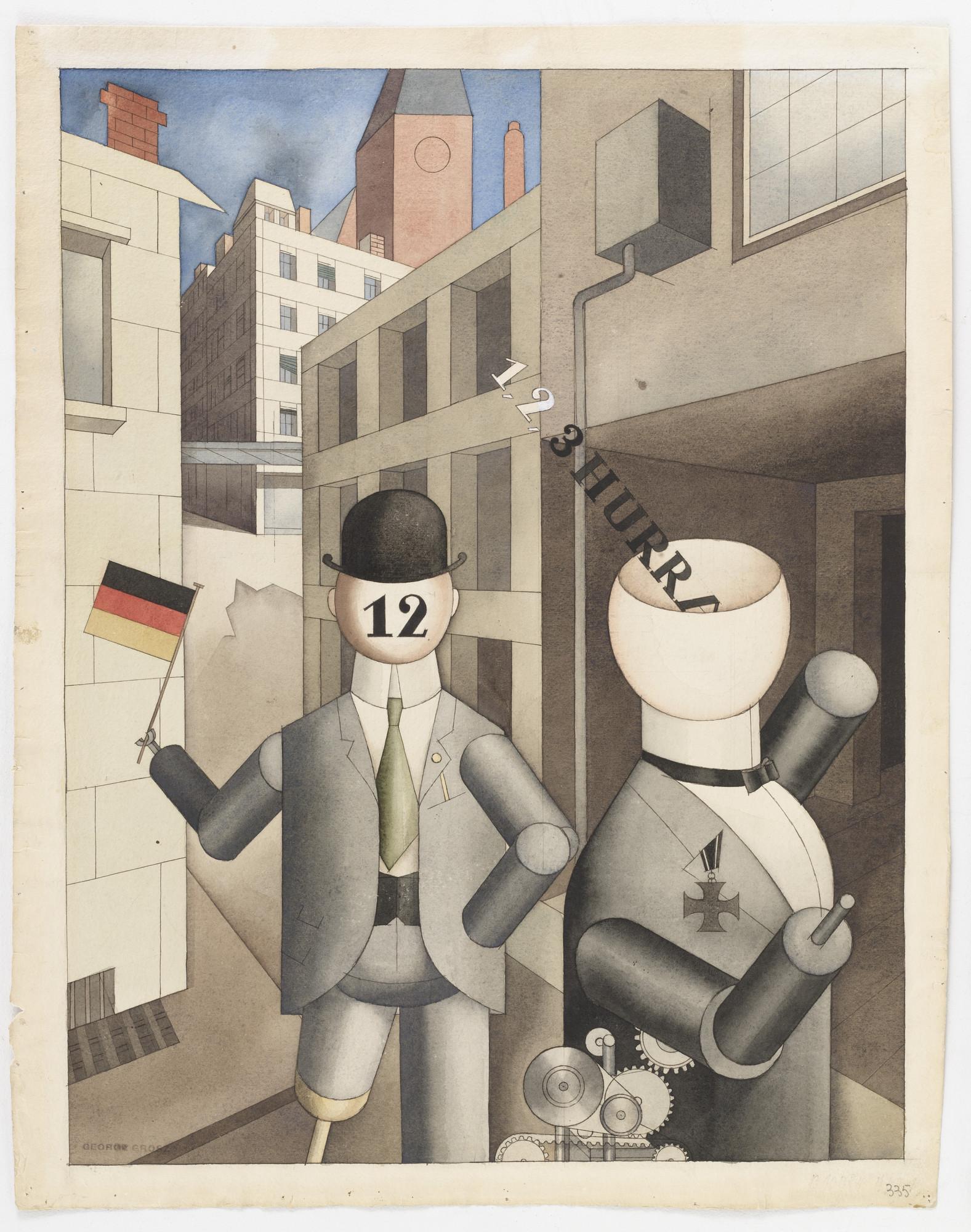 George Grosz, 1920, Neue Sachlichkeit - Wikipedia