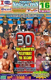 Rey del Ring (2009) 2009 International Wrestling Revolution Group event