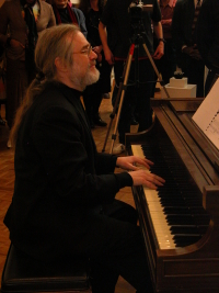 Robert Carl at the piano - from a concert at t...