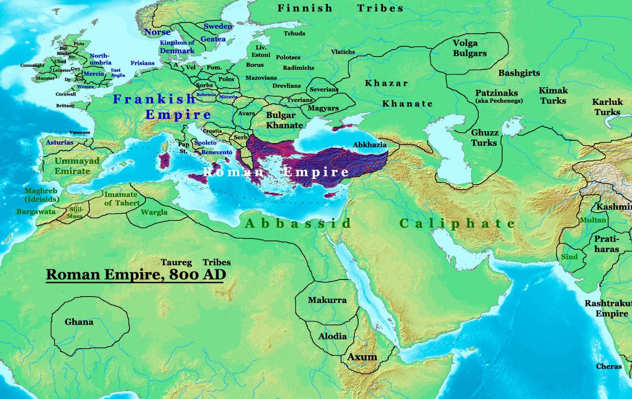File Roman Empire 800ad Sm Jpg Wikipedia