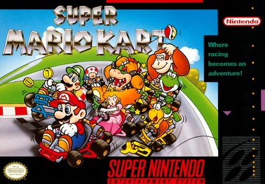 Picture of a game: Super Mario Kart