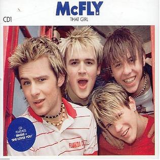 That Girl (McFly song) 2004 single by McFly
