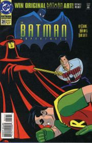 in batman the animated series was depicted in the batman adventures
