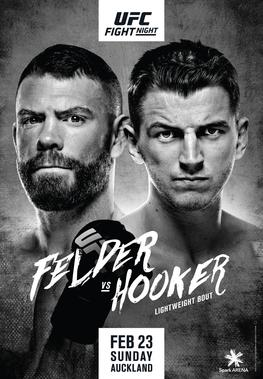 Ufc Fight Night Felder Vs Hooker Wikipedia