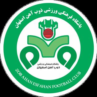 Zob Ahan Esfahan F.C. Association football club in Isfahan, Iran