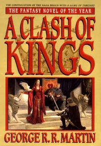 "Edición en tapa blanda de ""A Clash of Kings"""