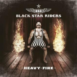 <i>Heavy Fire</i> (album) 2017 studio album by Black Star Riders