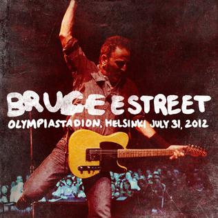 <i>Olympiastadion, Helsinki, July 31, 2012</i> 2017 live album by Bruce Springsteen and the E Street Band