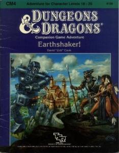 Cover of CM4 Earthshaker!