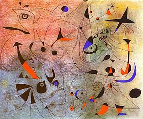 <i>Constellations</i> (Miró) Painting series by Joan Miró