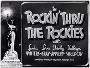 <i>Rockin thru the Rockies</i> 1940 film by Jules White