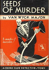 Cover from Seeds of Murder, Mason's first book