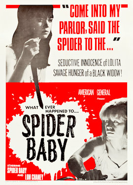 Spider Baby (1964) movie poster