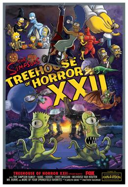 Treehouse Of Horror Xxii Wikipedia