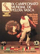 1982 Basque Pelota World Championships