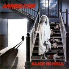 <i>Alice in Hell</i> 1989 studio album by Annihilator