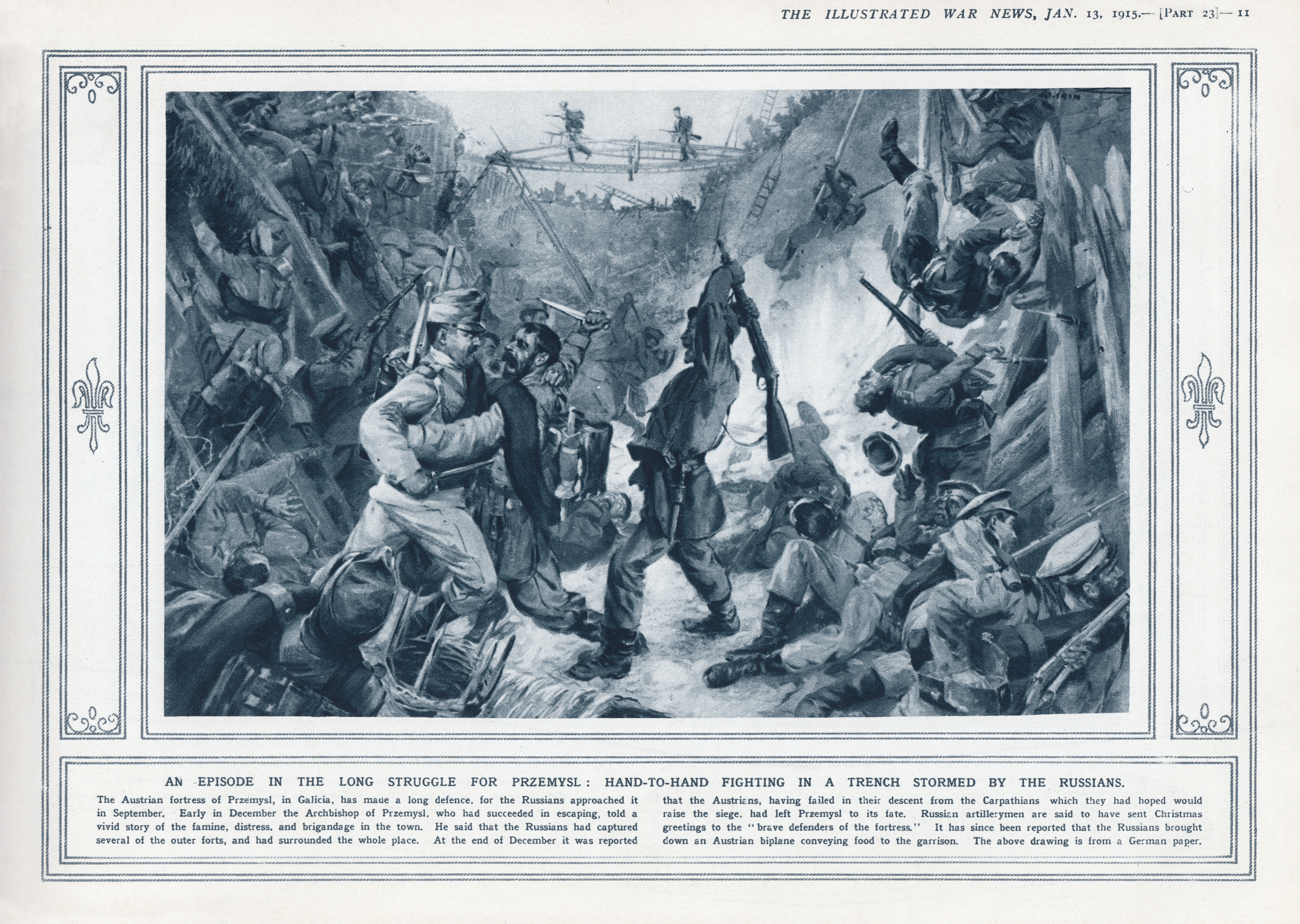 File:Illustrated War News, Jan. 13, 1915, page 11 - Siege of ... on
