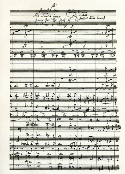 Extract from manuscript of overture to The May Queen, 1858 May-Queen-Ms.jpg