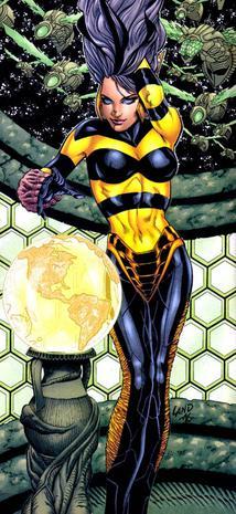 Teen titans queen of the hive