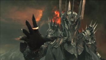 Sauron in Peter Jackson's The Lord of the Ring...