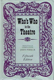 <i>Whos Who in the Theatre</i>