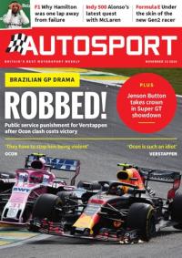 <i>Autosport</i> British motorsport magazine