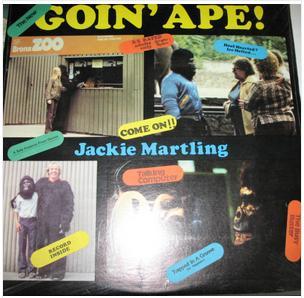 <i>Goin Ape!</i> 1980 studio album by Jackie Martling