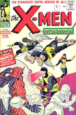 X-Men Comic Book Cover