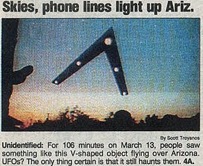 A drawing of the object appeared in USA Today....