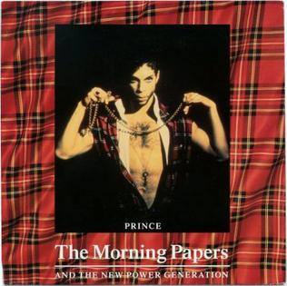 The Morning Papers 1993 single by Prince and The New Power Generation