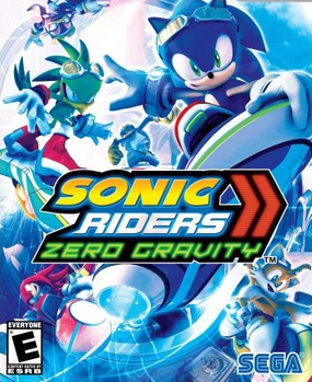 Picture of a game: Sonic Riders: Zero Gravity